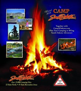 2019 Camp S Dakota Guide is a handy directory of some campgrounds, RV parks and the state parks in South Dakota.