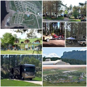 A variety of camping options across South Dakota