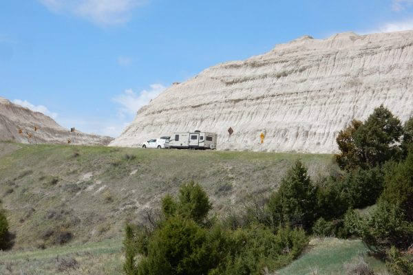 Badlands National Park Camping and RVing in South Dakota campgrounds and RV parks