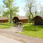 Chris' Campground in Spearfish South Dakota offers tent camping, RV sites and a variety of rental cabins