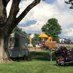 Sioux Falls KOA in eastern South Dakota, offering tent camping, RV sites and cabin rentals