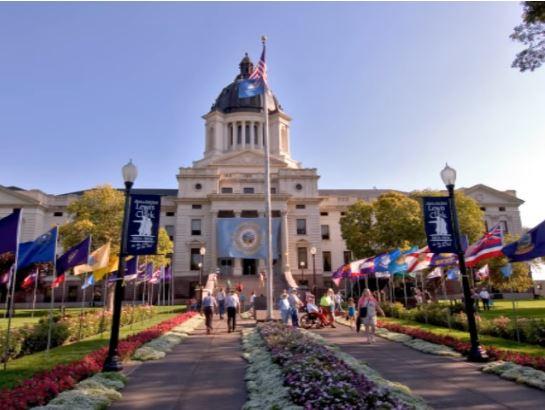 The Capitol in Pierre South Dakota