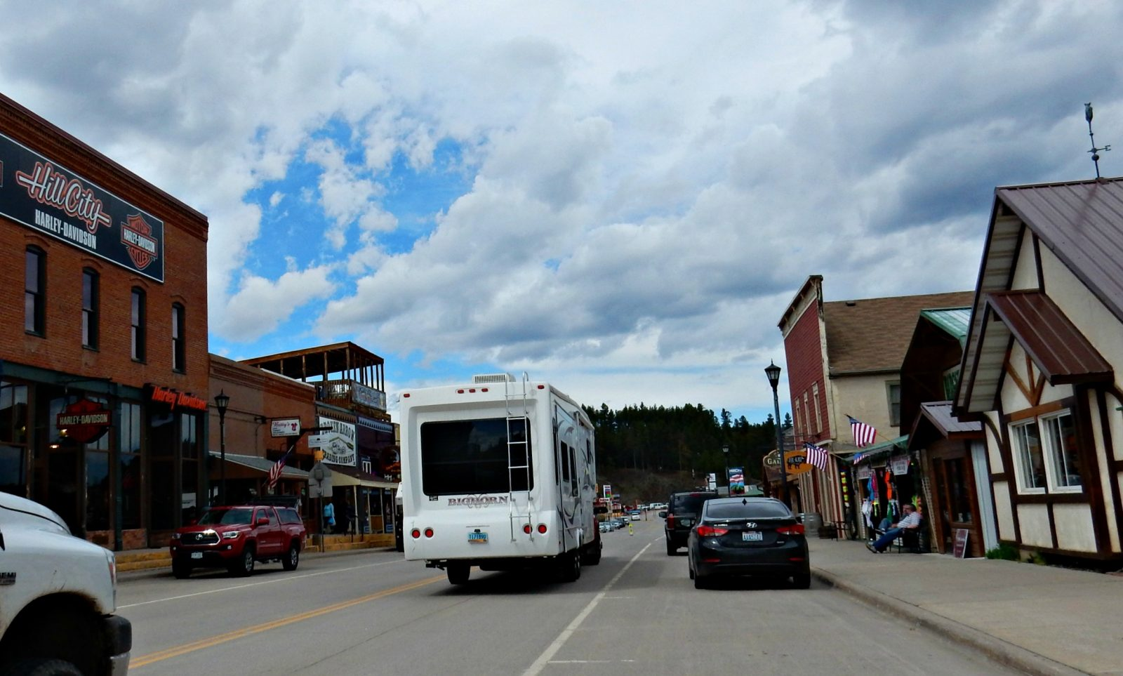 RV fifth wheel in Hill City South Dakota