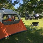 River of the Double Bend in Trent South Dakota offers tent camping